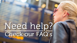Get help with our FAQ's